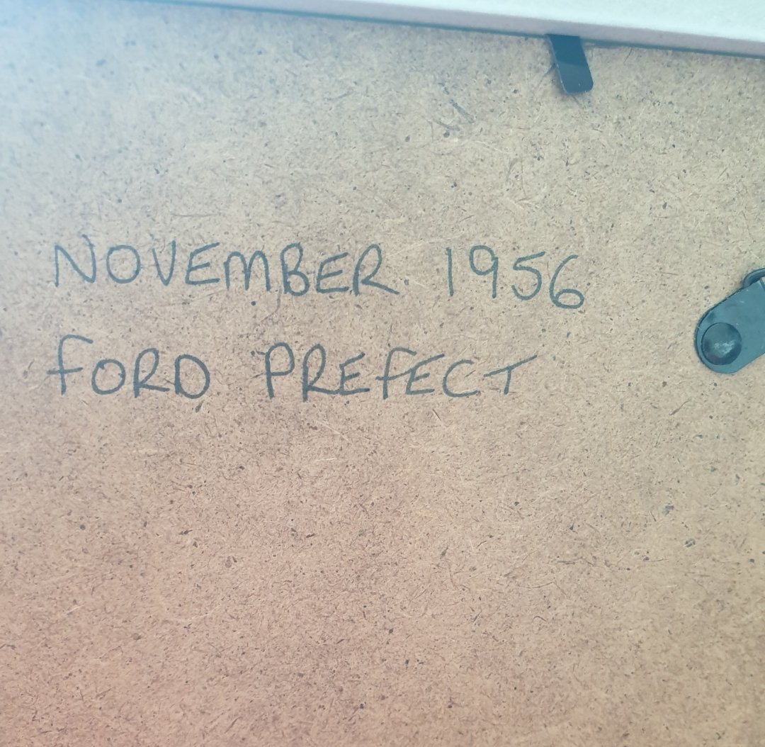 1956 Ford Prefect advert Original  For Sale (picture 2 of 2)