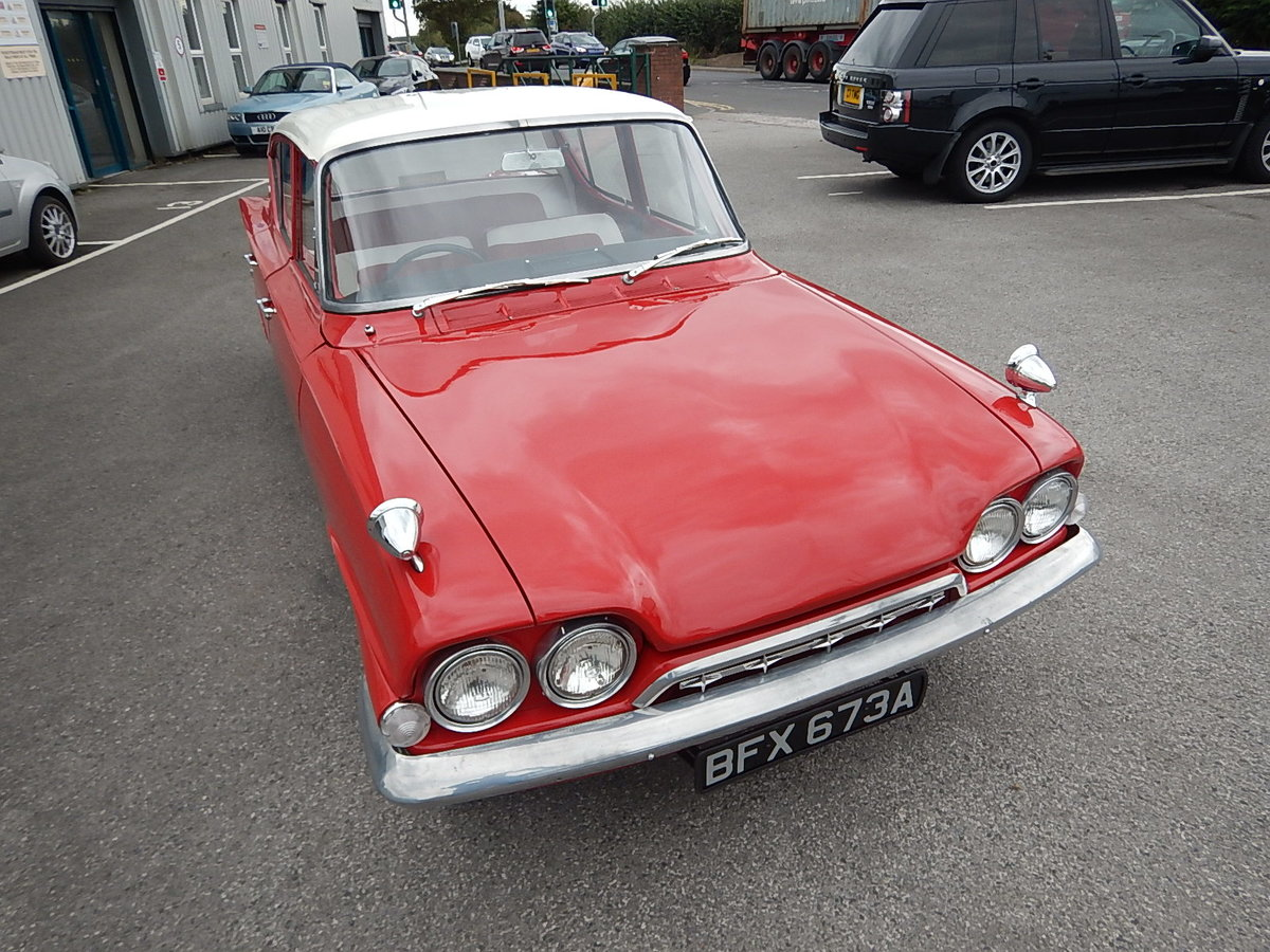 1961 FORD CONSUL CLASSIC Four Door Saloon SOLD (picture 2 of 6)