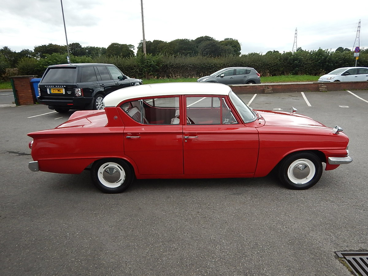 1961 FORD CONSUL CLASSIC Four Door Saloon SOLD (picture 3 of 6)