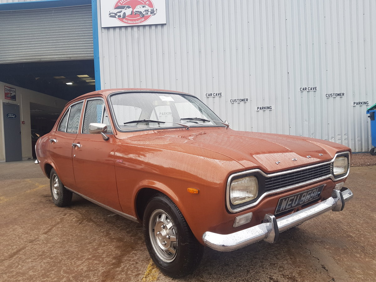 1972 Ford Escort Mk1 1100 XL - 27000 Miles - Time Warp Car For Sale (picture 1 of 6)