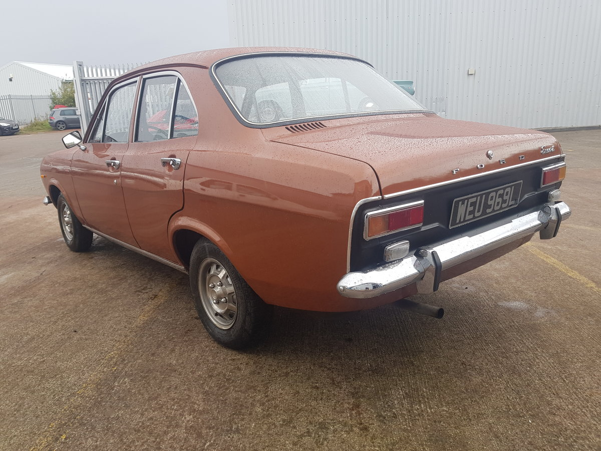 1972 Ford Escort Mk1 1100 XL - 27000 Miles - Time Warp Car For Sale (picture 3 of 6)