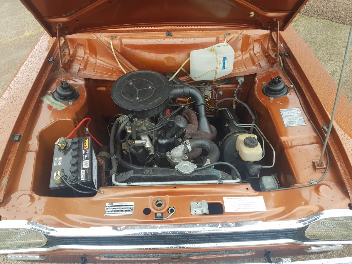 1972 Ford Escort Mk1 1100 XL - 27000 Miles - Time Warp Car For Sale (picture 6 of 6)