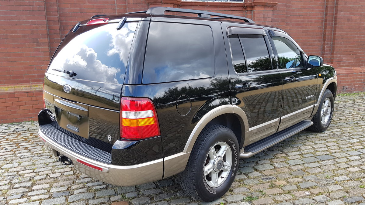 2003 FORD EXPLORER 4.6 EDDIE BAUER AUTOMATIC * 7 SEATER 4X4 LEATH For Sale (picture 2 of 6)