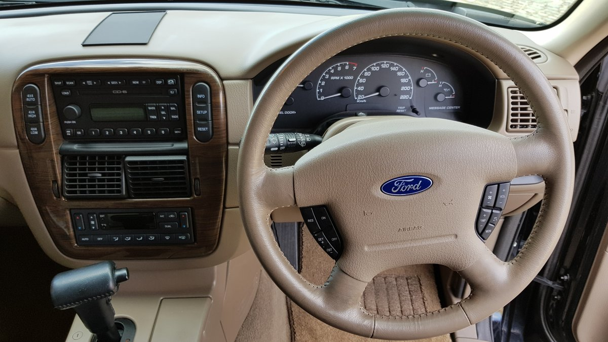 2003 FORD EXPLORER 4.6 EDDIE BAUER AUTOMATIC * 7 SEATER 4X4 LEATH For Sale (picture 6 of 6)