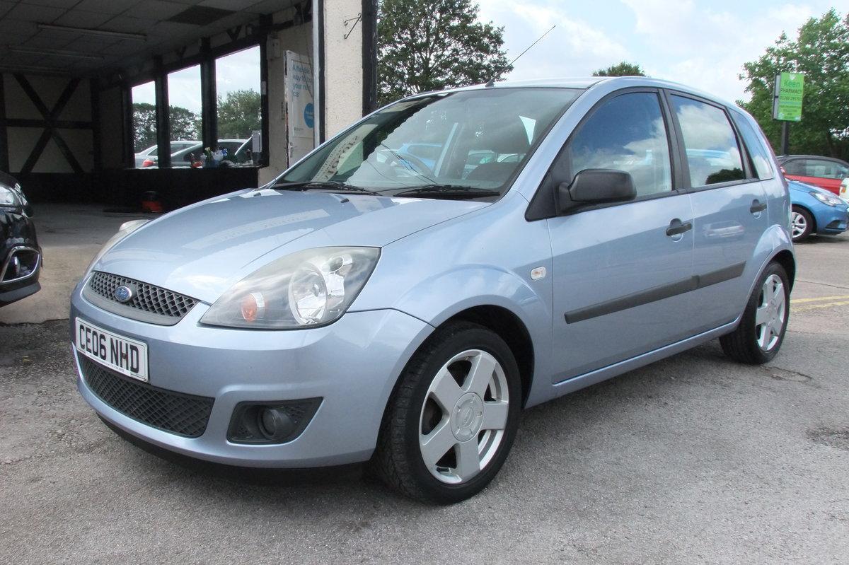 2006 Ford Fiesta 1 2 Zetec Climate 16v 5dr Sold