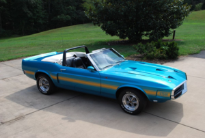 1970  Mustang Shelby GT350 Convertible Rare 428 Cobra