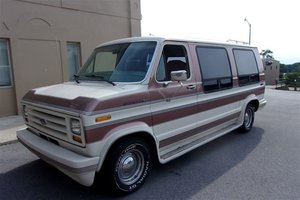 1987 Ford Conversion Van For Sale