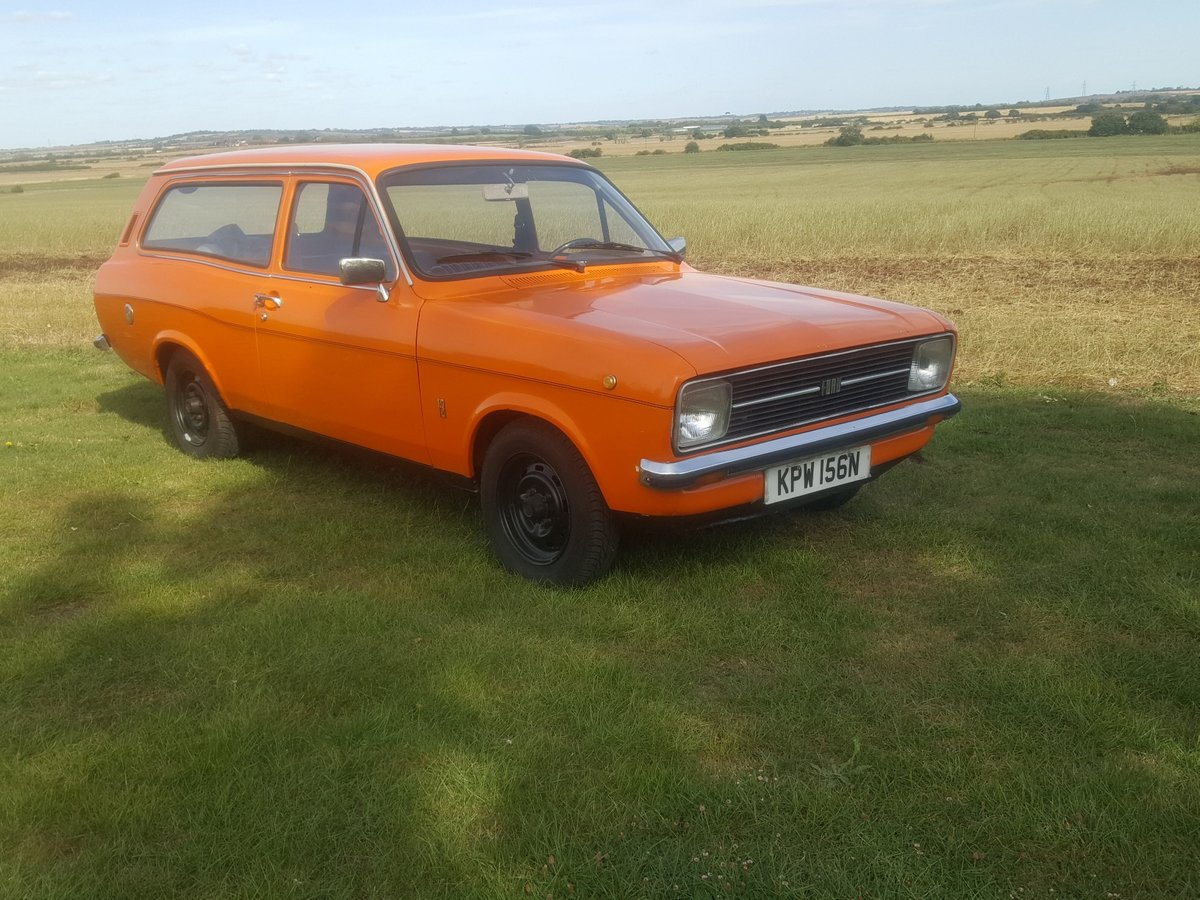 Ford Escort MK2 1.3 Automatic LHD 1975 For Sale (picture 1 of 6)