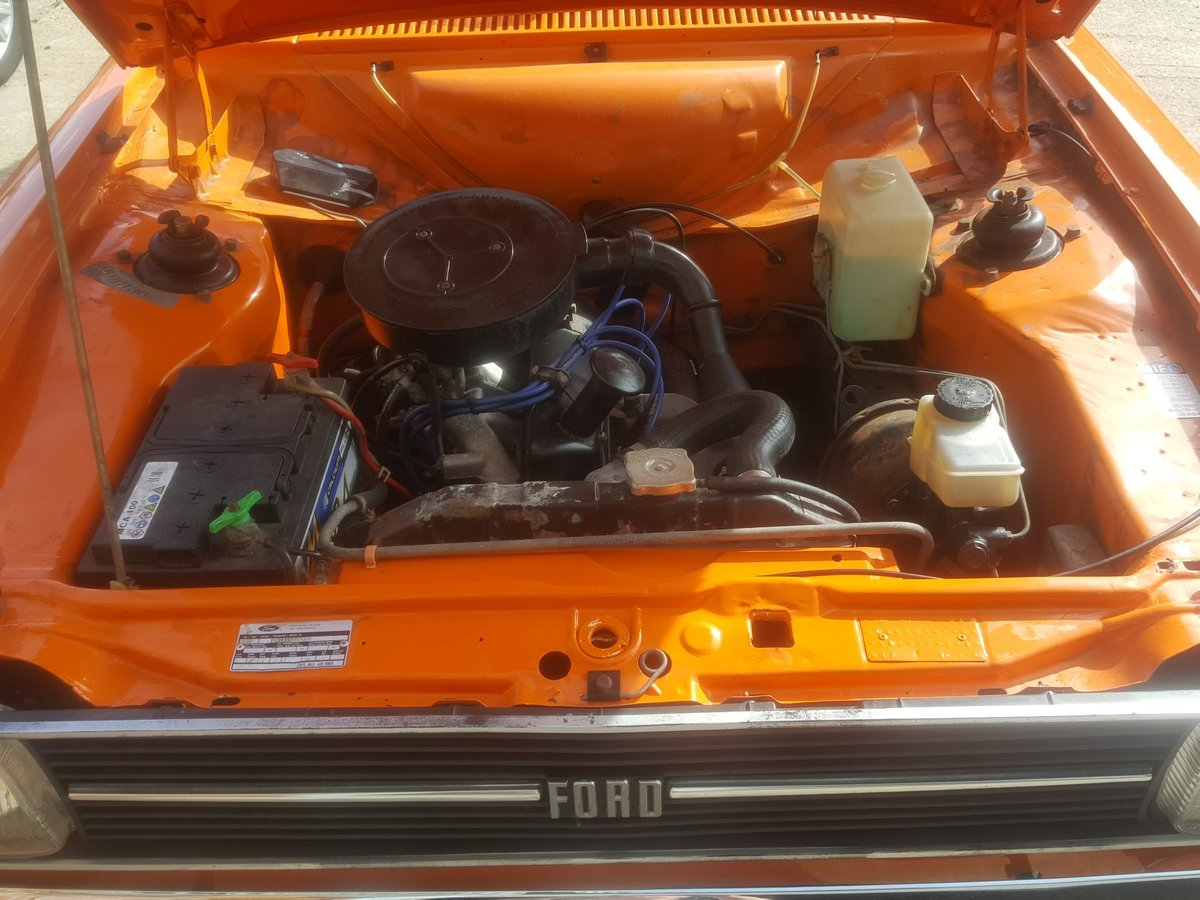 Ford Escort MK2 1.3 Automatic LHD 1975 For Sale (picture 5 of 6)