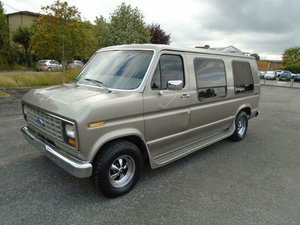 FORD ECONOLINE E150 5.8 V8 AUTO LHD DAY VAN (1989) DRIVES!
