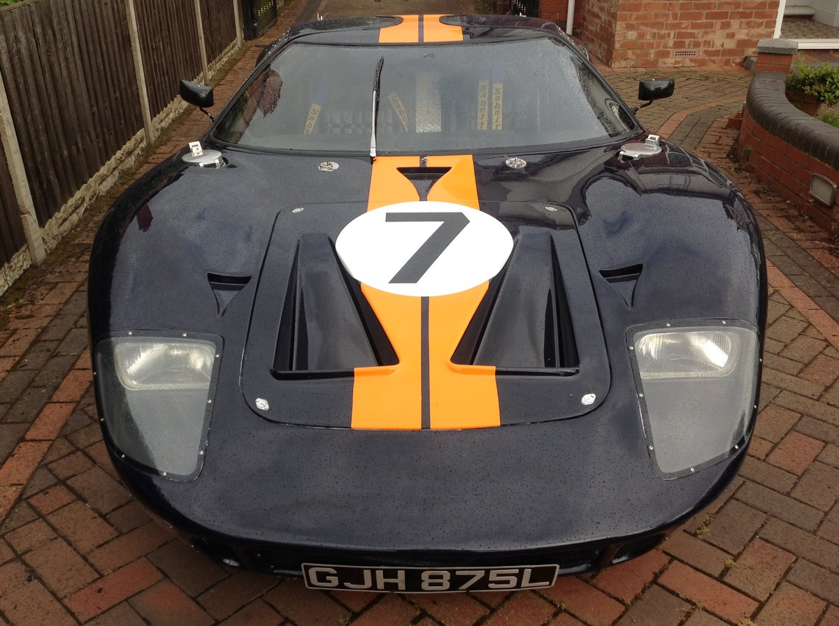 1972 FORD GT40.  MK1 C TYPE CHASSIS  For Sale (picture 2 of 6)
