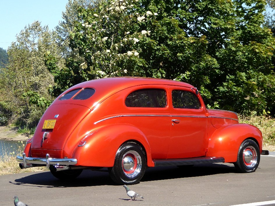 1940 Ford 2 Door Coupe All Steel 350(~)350 AC mods $29.5k For Sale (picture 2 of 6)