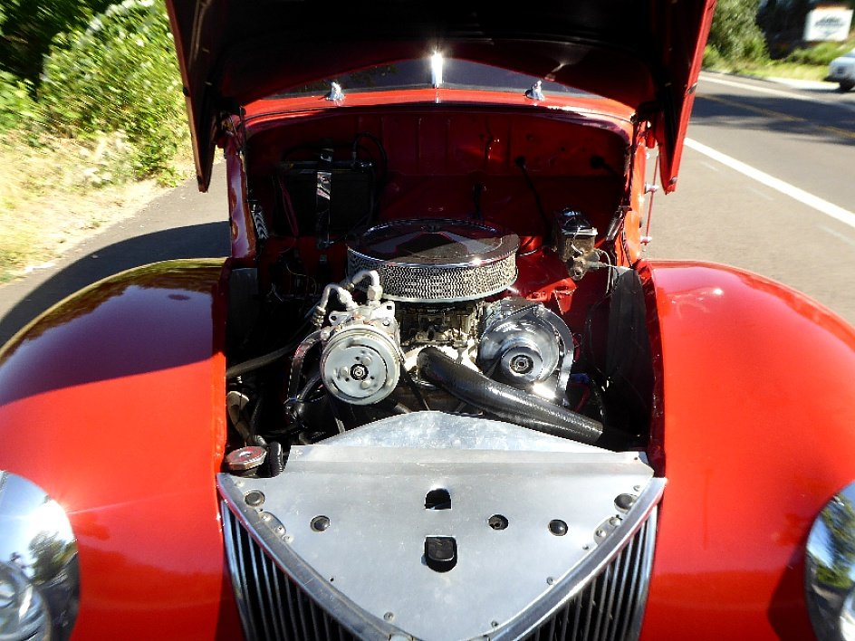 1940 Ford 2 Door Coupe All Steel 350(~)350 AC mods $29.5k For Sale (picture 6 of 6)