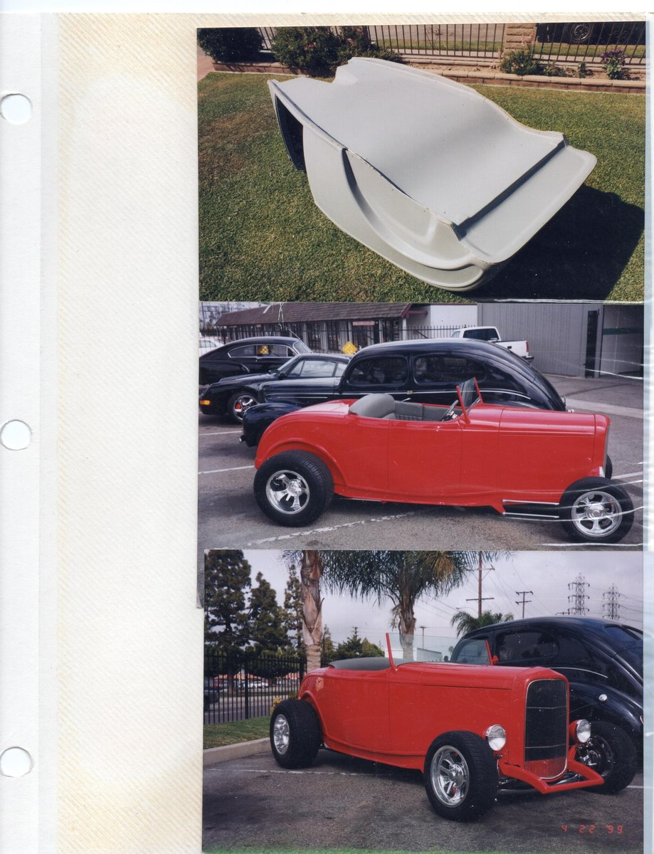 1932 Molds to build fiberglass roadster bodies For Sale (picture 6 of 6)