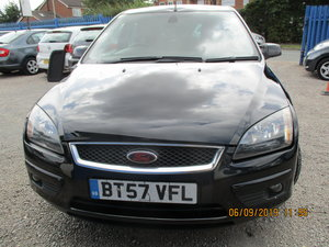 2007 GOOD SOUND DRIVER FOCUS 2LTR  PETROL 5 DOOR NEW MOT For Sale