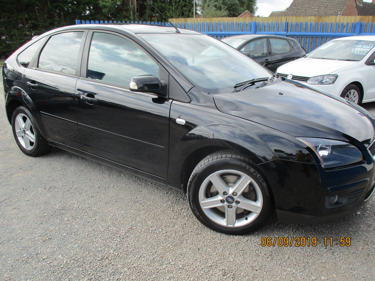 2007 GOOD SOUND DRIVER FOCUS 2LTR  PETROL 5 DOOR NEW MOT For Sale (picture 2 of 6)