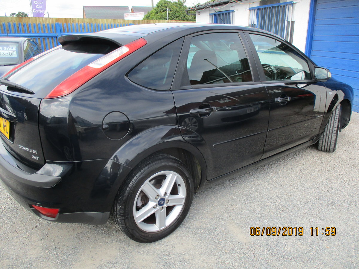 2007 GOOD SOUND DRIVER FOCUS 2LTR  PETROL 5 DOOR NEW MOT For Sale (picture 4 of 6)