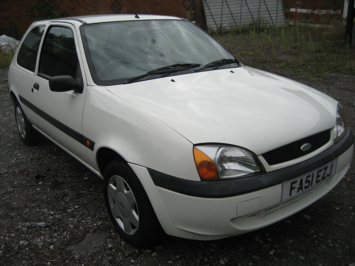 2002 Ford Fiesta 1.3 19000 miles only from new For Sale (picture 1 of 6)