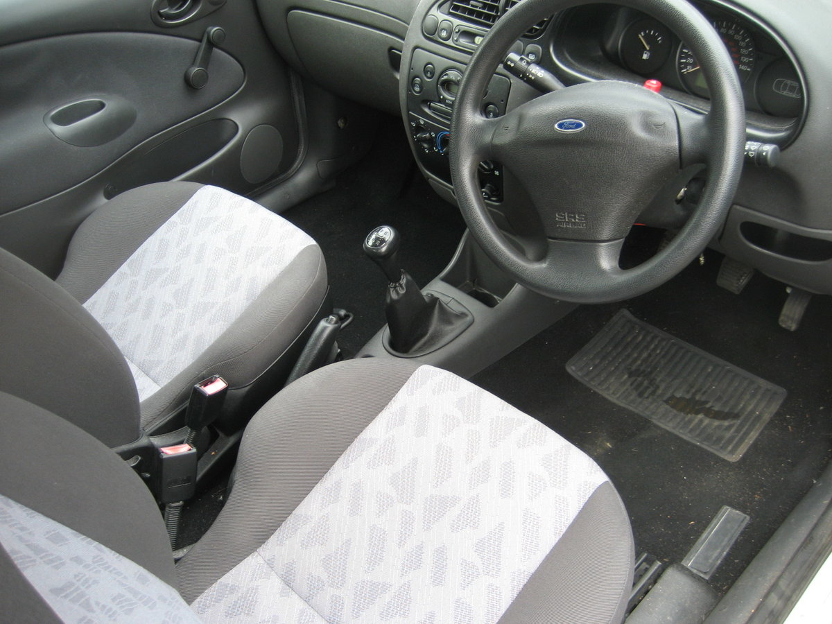 2002 Ford Fiesta 1.3 19000 miles only from new For Sale (picture 4 of 6)