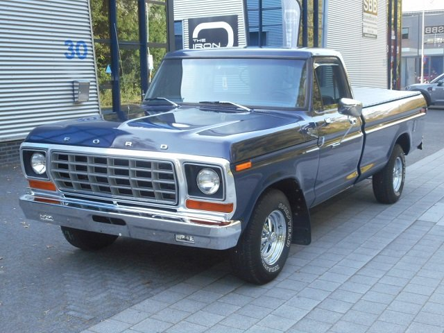 1978 FORD USA F150 CUSTOM PICK-UP For Sale (picture 1 of 6)