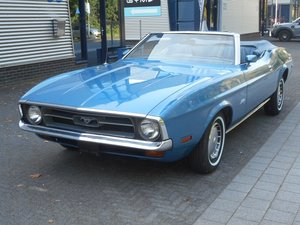 1972 FORD MUSTANG 4.9 V8 Convertible For Sale