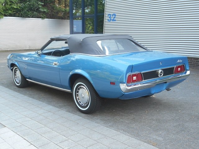 1972 FORD MUSTANG 4.9 V8 Convertible For Sale (picture 2 of 6)