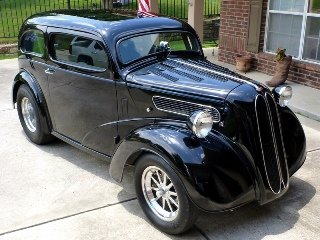1952 Ford Anglia Fast 700+HP Full Roll Cage Black $53.7k For Sale (picture 1 of 6)