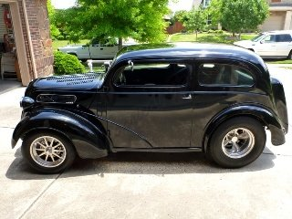 1952 Ford Anglia Fast 700+HP Full Roll Cage Black $53.7k For Sale (picture 2 of 6)