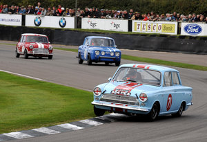 1964 Ford Cortina MK1 GT FiA race car