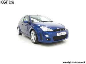 2003 A Mollycoddled Ford Focus RS Mk1, Build Number 3260 SOLD