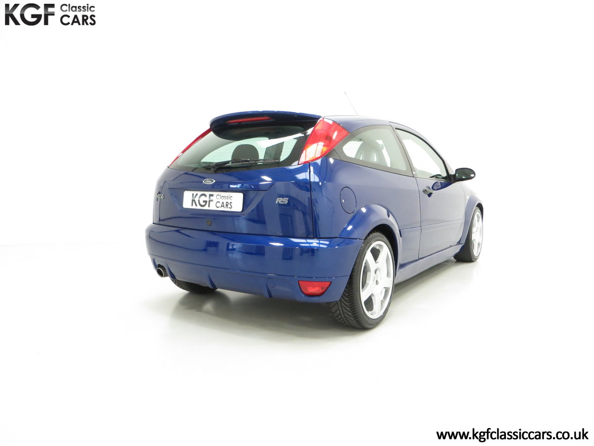 2003 A Mollycoddled Ford Focus RS Mk1, Build Number 3260 SOLD (picture 5 of 6)