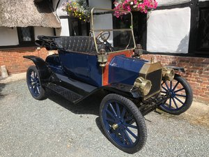 Very Rare 1913 Ford Model T Roadster. Beautiful car SOLD