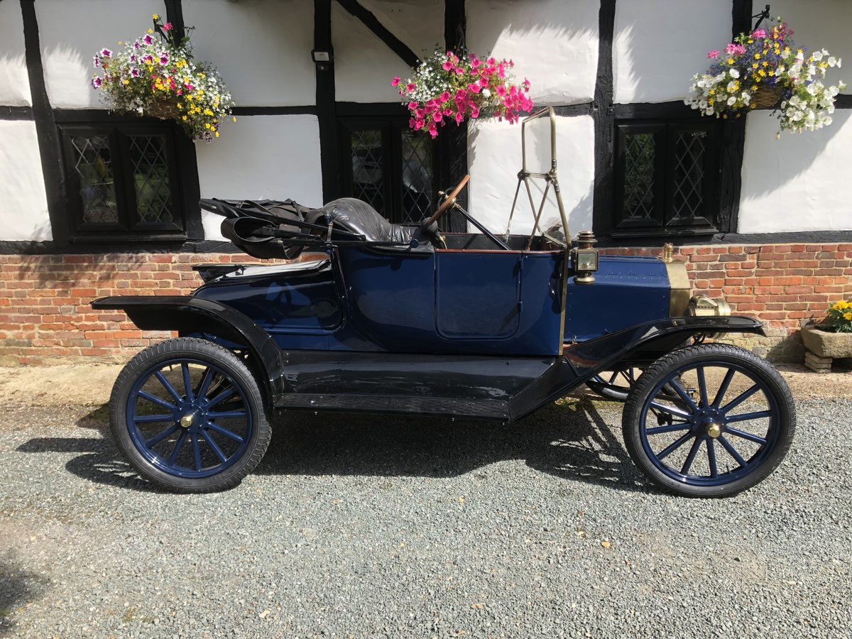 Very Rare 1913 Ford Model T Roadster. Beautiful car SOLD (picture 2 of 4)