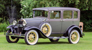 1930 FORD MODEL A FOUR DOOR SALOON For Sale by Auction