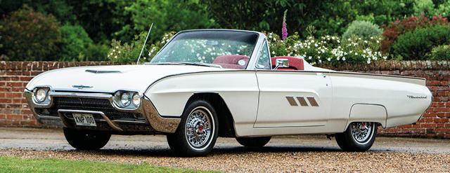 1963 FORD THUNDERBIRD For Sale by Auction