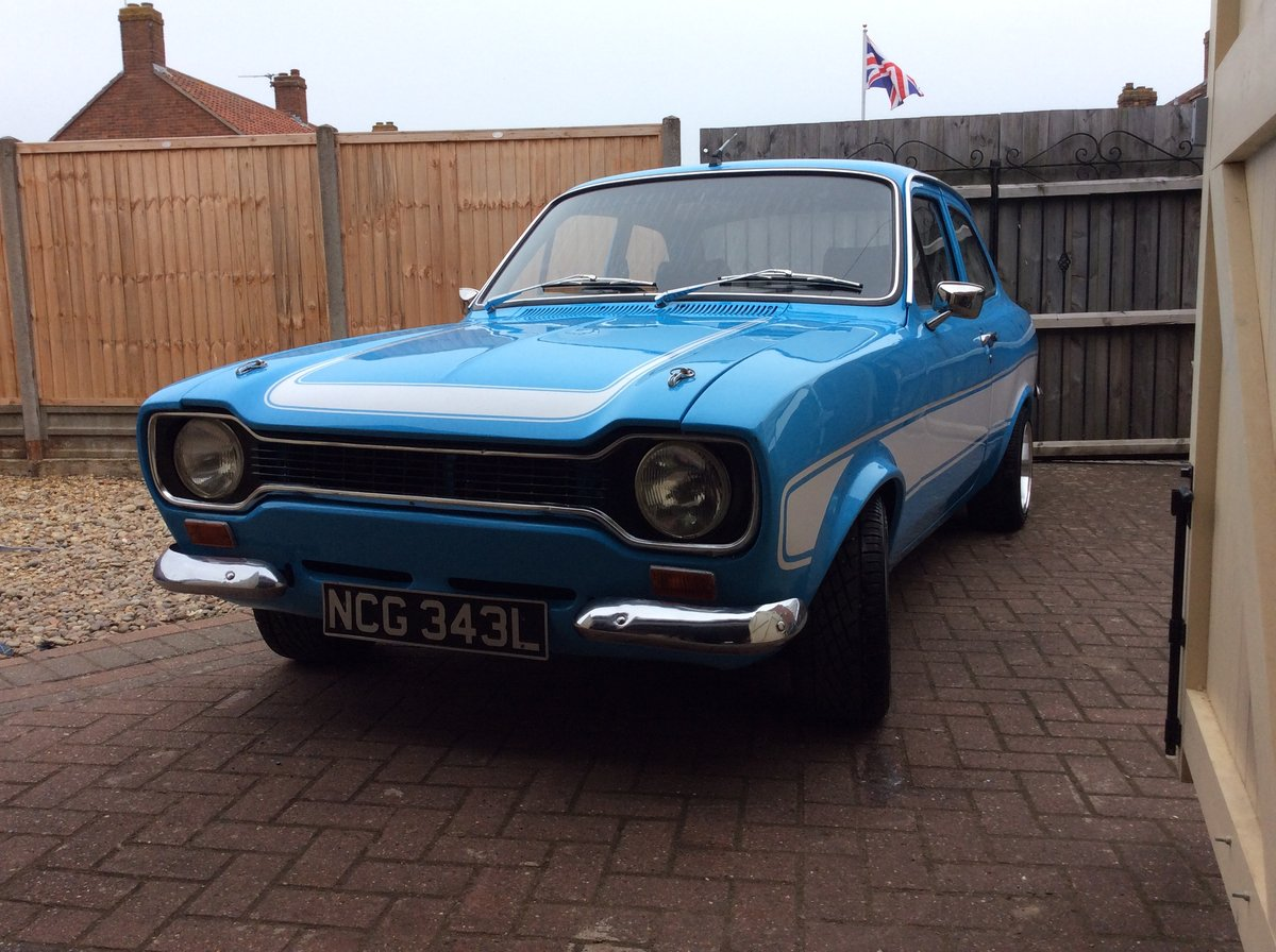 1973 Ford escor Mk1 t (2.0 ltr pinto) For Sale (picture 1 of 6)