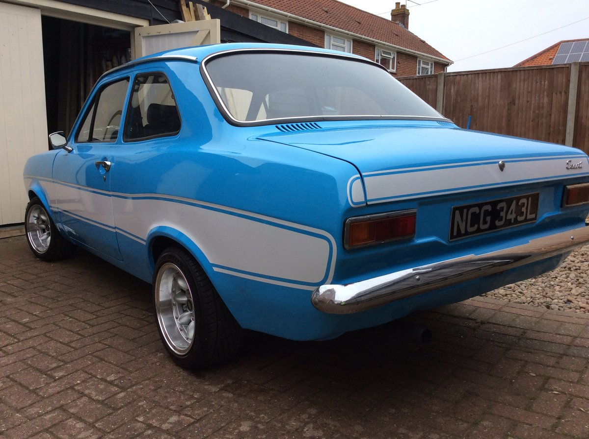 1973 Ford escor Mk1 t (2.0 ltr pinto) For Sale (picture 3 of 6)