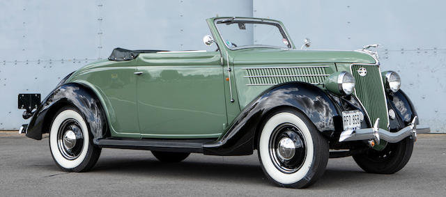 1936 FORD MODEL 68 CABRIOLET For Sale by Auction