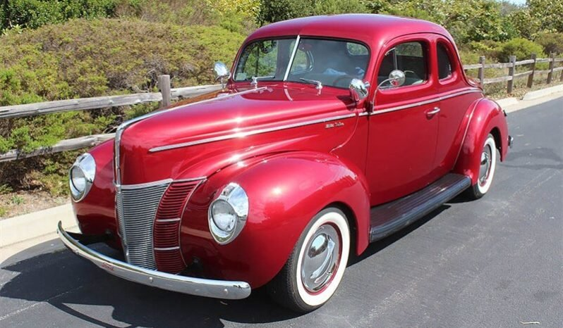 1940 Ford 2 Door Coupe High-End Build 350(~)350 AC $32k For Sale (picture 1 of 6)