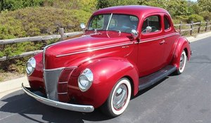 1940 Ford 2 Door Coupe High-End Build 350(~)350 AC $32k For Sale