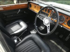 1970 Ford Cortina 1600E.