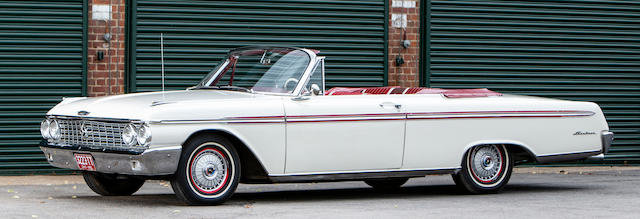 1962 FORD GALAXIE SUNLINER CONVERTIBLE  For Sale by Auction