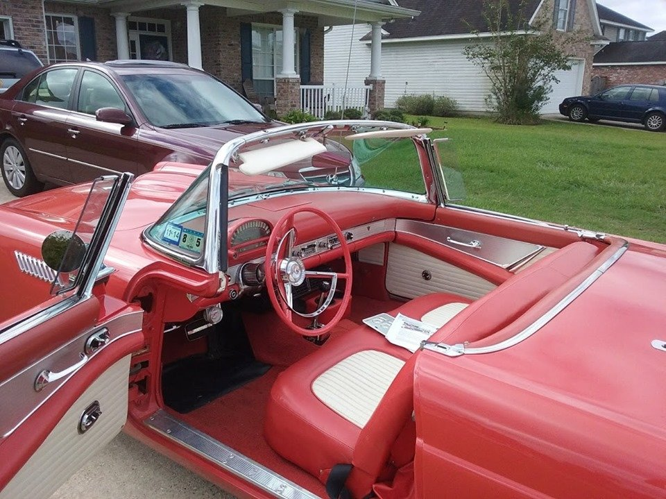 1956 Ford Thunderbird (Covington, LA) $42,900 obo For Sale (picture 2 of 6)