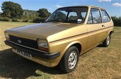 1981 Fiesta 1.1 3 Dr Popular - Barons Friday 20th Sept 2019 For Sale by Auction