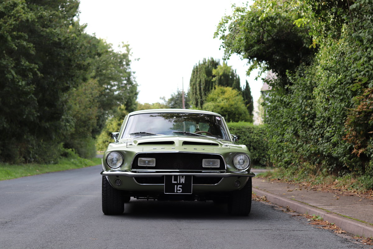 1968 Shelby Mustang GT500 - Exceptional condition  For Sale (picture 2 of 17)