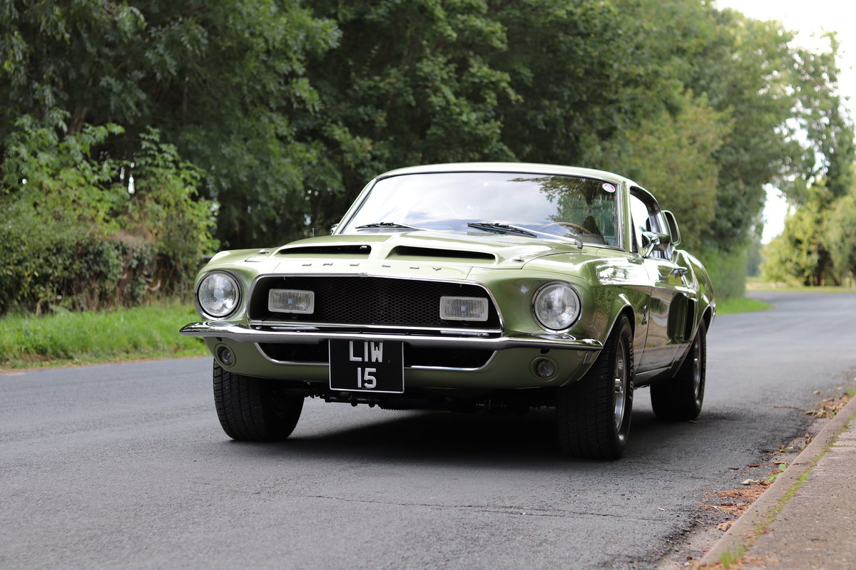 1968 Shelby Mustang GT500 - Exceptional condition  For Sale (picture 3 of 17)
