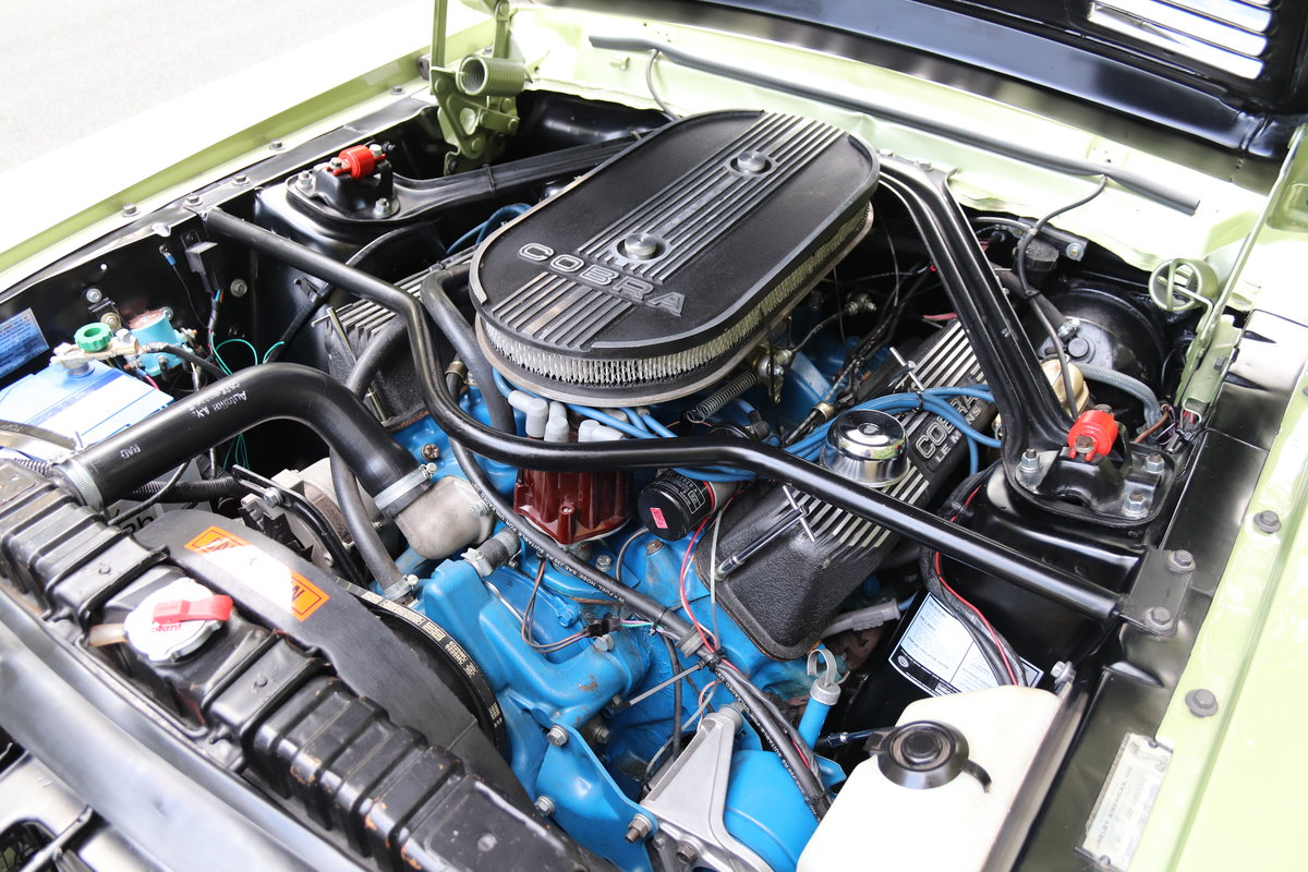 1968 Shelby Mustang GT500 - Exceptional condition  For Sale (picture 15 of 17)