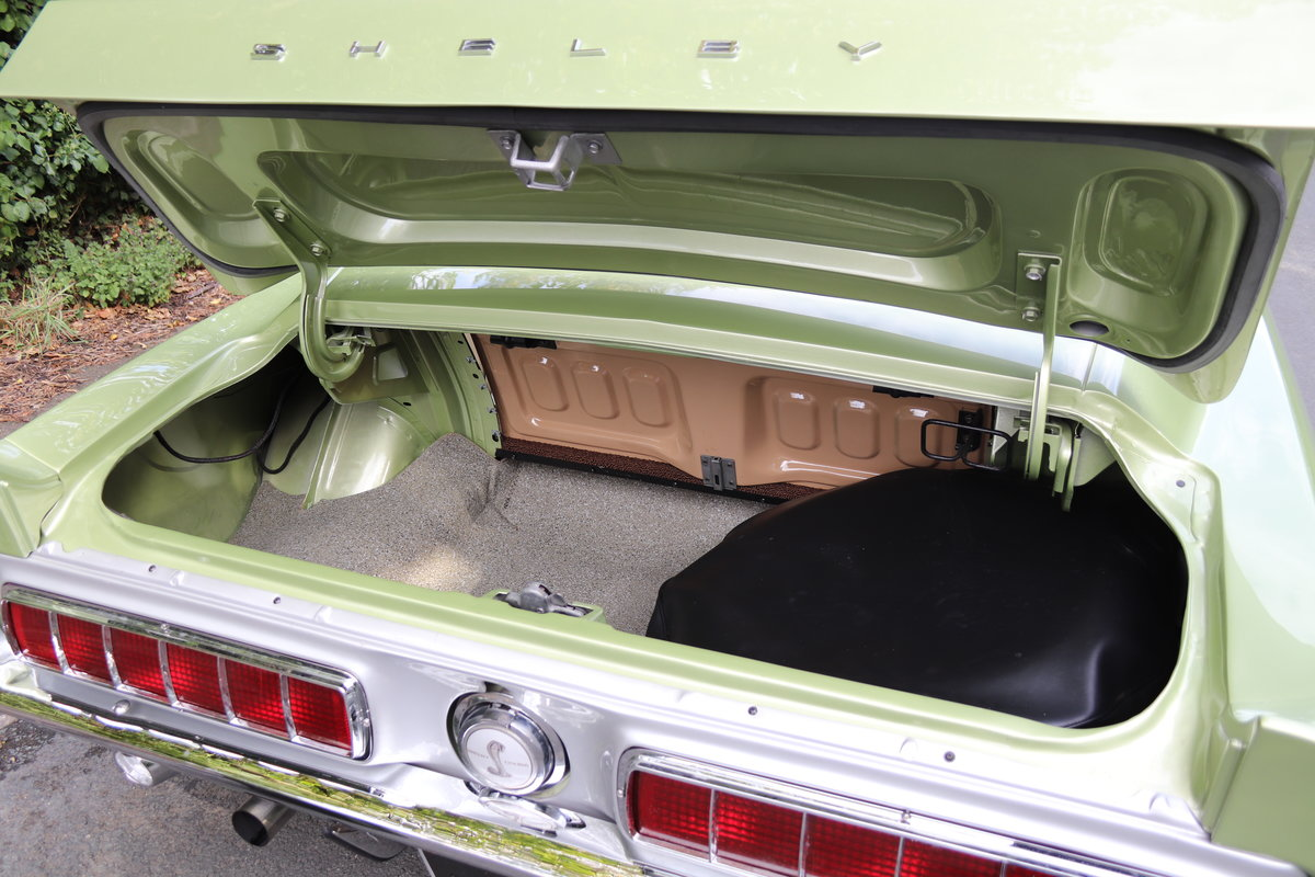 1968 Shelby Mustang GT500 - Exceptional condition  For Sale (picture 17 of 17)