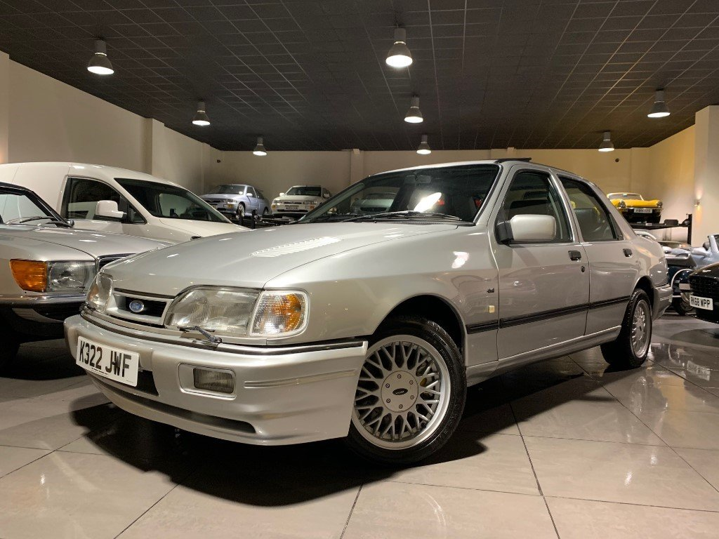 1992 Ford Sierra Sapphire RS Cosworth 4x4 Moondust Silver For Sale (picture 1 of 6)