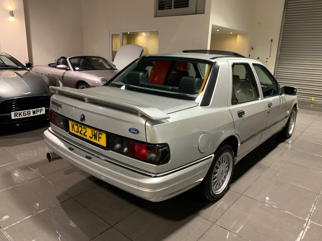 1992 Ford Sierra Sapphire RS Cosworth 4x4 Moondust Silver For Sale (picture 5 of 6)